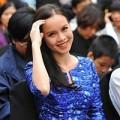 Làng sao - Á hậu Ngọc Oanh xinh đẹp sau khi chia tay showbiz