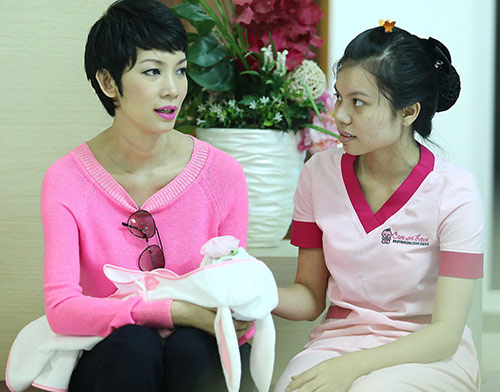 xuan lan lan dau lo dien sau khi sinh - 6
