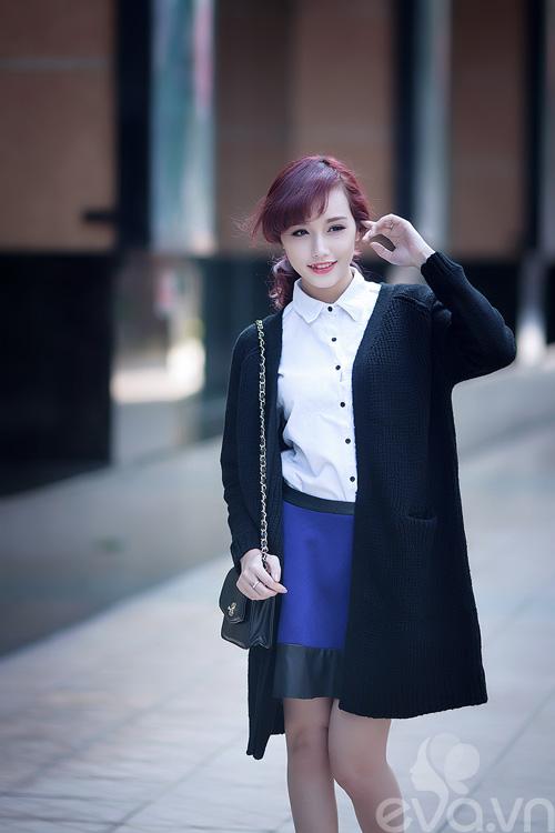 am dep khong can day com cung cardigan dai - 2