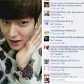 Làng sao - Fan Việt chửi bậy trên fanpage của Lee Min Ho