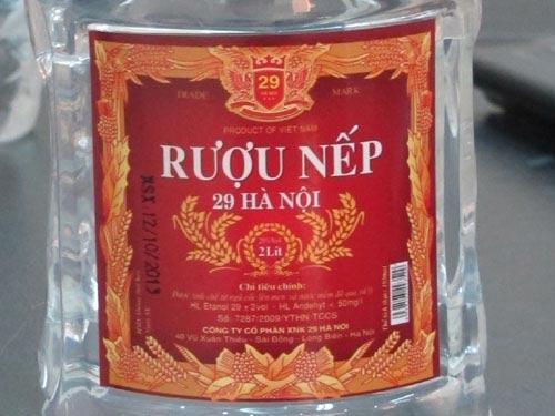 """ngo doc """"ruou nep 29 ha noi"""", 4 nguoi thiet mang - 2"""
