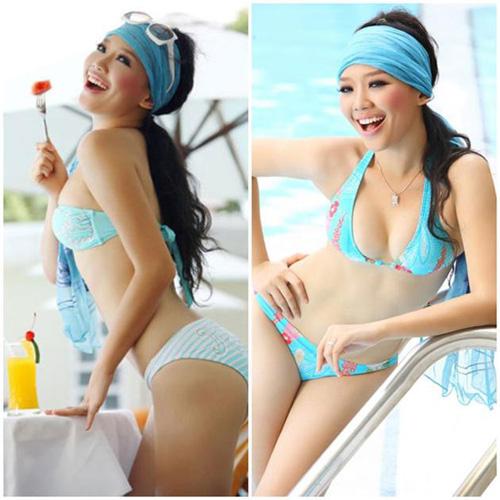 """qua trinh """"thang hang"""" bikini cua toc tien - 4"""