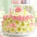 Những chiếc bánh sinh nhật dễ thương cho bé