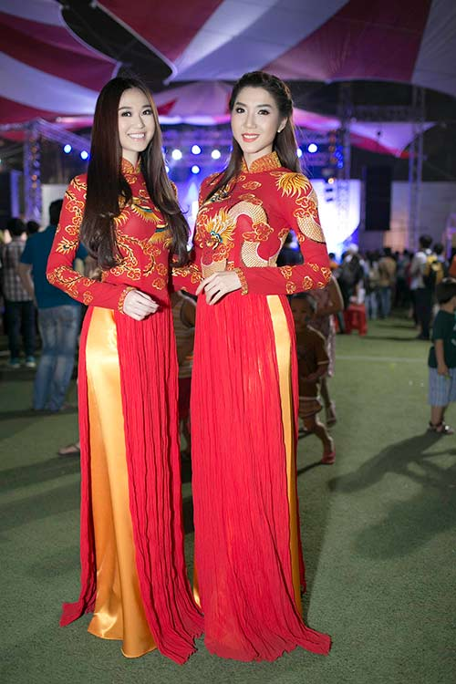 "khanh my ""do"" ao dai long phung voi ngoc quyen - 4"