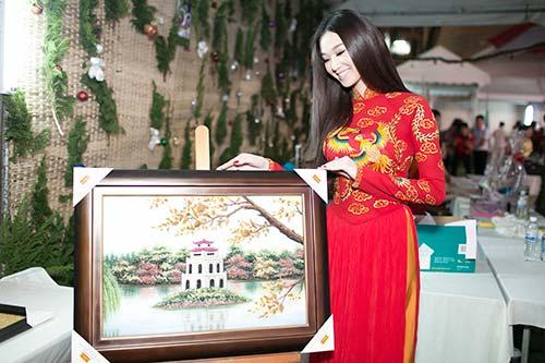 "khanh my ""do"" ao dai long phung voi ngoc quyen - 9"