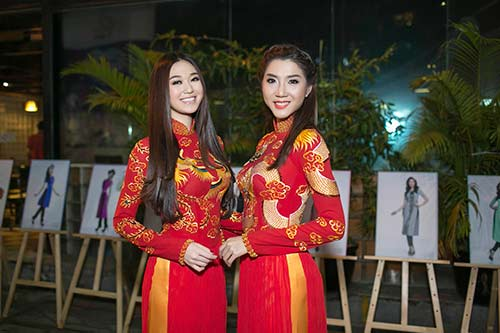 "khanh my ""do"" ao dai long phung voi ngoc quyen - 5"