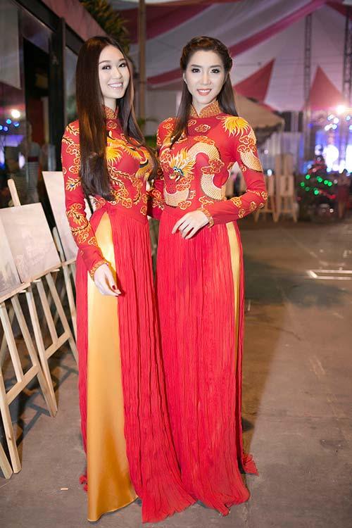 "khanh my ""do"" ao dai long phung voi ngoc quyen - 6"
