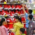 Mua sắm - Giá cả - Hết cảnh người bán hốt bạc mùa Noel