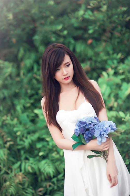 midu hoa trinh nu tren thao nguyen xanh - 4