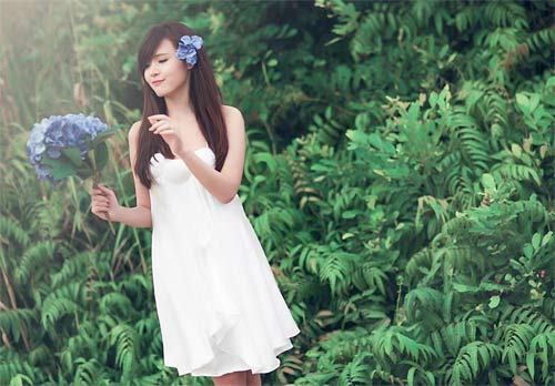 midu hoa trinh nu tren thao nguyen xanh - 8