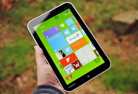 can canh tablet mini toshiba encore chay windows 8.1 - 1