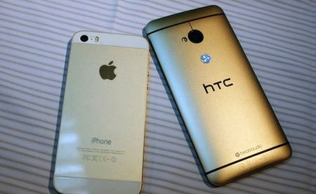 mo hop htc one phien ban gold - 2