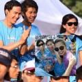 Làng sao - Đại gia đình chồng đến cổ vũ Tăng Thanh Hà