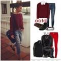 Thời trang - Thanh Hằng khéo 'làm ấm' mùa đông cùng sắc đỏ