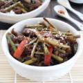 Bếp Eva - Mỳ trộn thịt bò xào măng tây