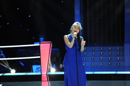 "ha linh bat ngo ""nhuan sac"" qua the voice - 5"