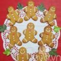 Bếp Eva - Làm bánh quy gừng mừng Giáng sinh