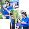 Làng sao - Nguyễn Thị Loan tươi tắn trong màu áo tình nguyện