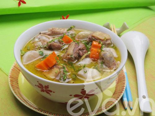 5 mon canh ham nong bua com ngay lanh - 9