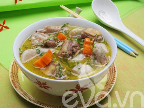 5 mon canh ham nong bua com ngay lanh - 10