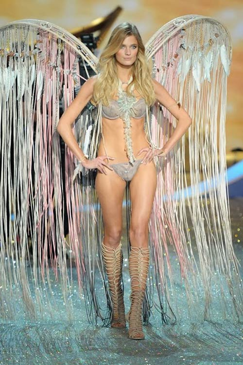 video: man nhan voi victoria's secret show 2013 - 11