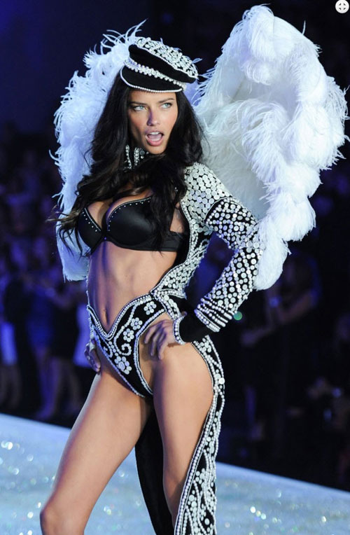video: man nhan voi victoria's secret show 2013 - 3