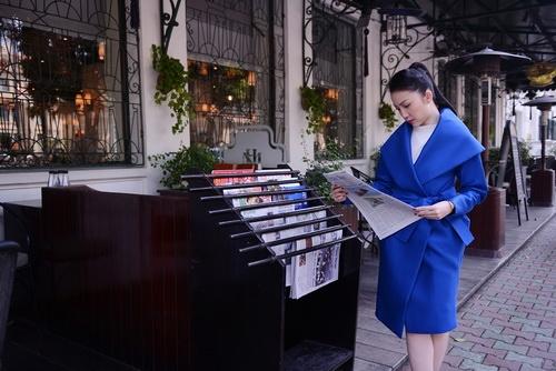 'bà hoàng' linh nga xuóng phó ngày dong - 2