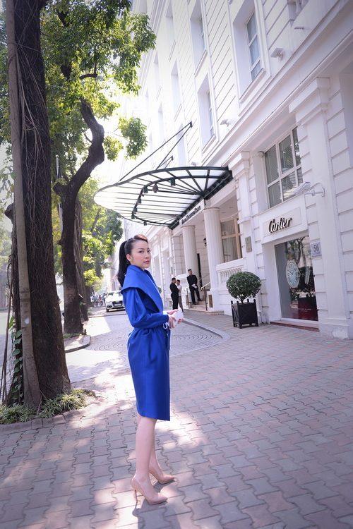 'bà hoàng' linh nga xuóng phó ngày dong - 5