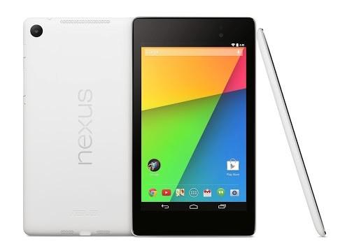 tablet nexus 7 2013 mau trang chinh thuc trinh lang - 1