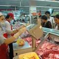 Mua sắm - Giá cả - Thịt lợn tăng giá 5.000 đồng/kg