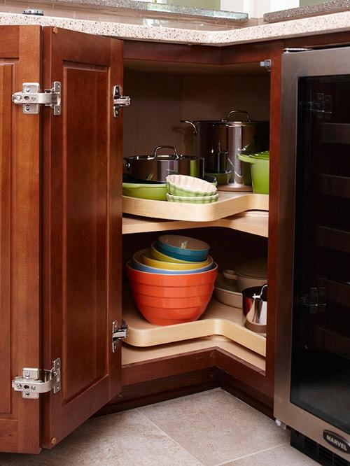 Ấn tượng mẫu tủ bếp đẹp và cực tiện - 3
