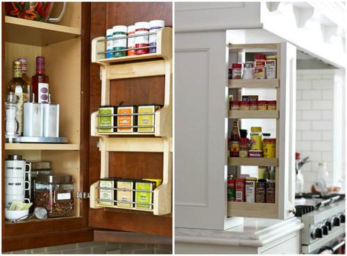 Ấn tượng mẫu tủ bếp đẹp và cực tiện - 4