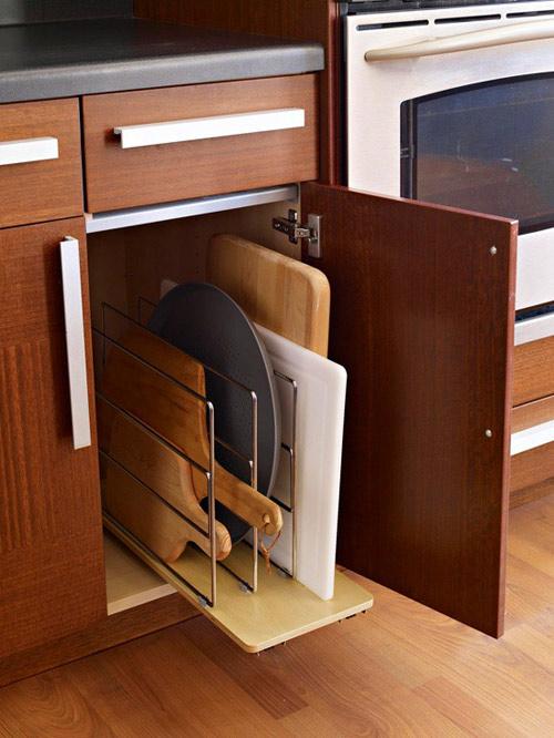 Ấn tượng mẫu tủ bếp đẹp và cực tiện - 5