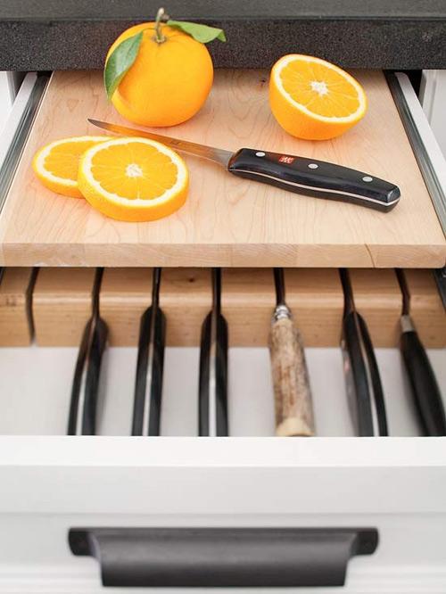 Ấn tượng mẫu tủ bếp đẹp và cực tiện - 7