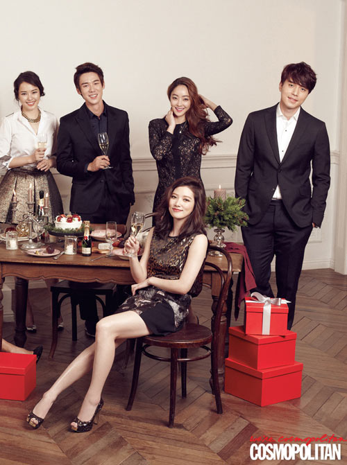 co gia su cua the heirs don giang sinh tren tap chi - 1