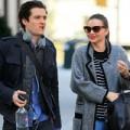 Làng sao - Miranda Kerr và Orlando Bloom vui vẻ bên nhau