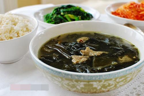 Canh thịt bò rong biển hương vị Hàn - 5