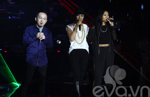 "quoc trung tuyen bo ""cach mat"" the voice - 6"