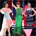 """Thời trang - Style """"một trời một vực"""" của cô Bống tại The Voice"""
