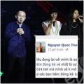 """Làng sao - Quốc Trung tuyên bố """"cạch mặt"""" The Voice"""