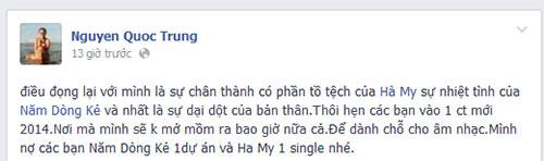 "tuan hung ""an ui"" quoc trung ve ket qua the voice - 3"