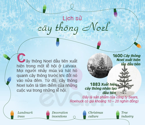 infographic: lich su 400 nam cua cay thong noel - 1