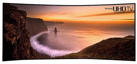 samsung cung co tv cong 105 inch sieu net - 1