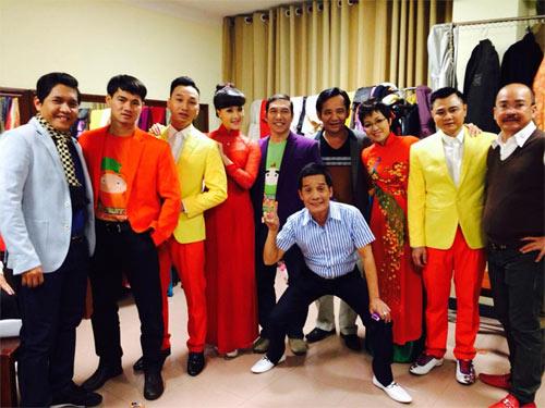 Nghệ sỹ hài Nam - Bắc tụ họp trong Gala cười 2014 - 1