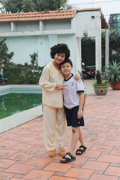 "con trai cat phuong ""cuc kho"" hoc bai o phim truong - 1"