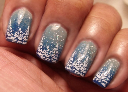 tips ve nail cay thong noel qua de - 3