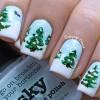 Tips vẽ nail cây thông Noel quá dễ