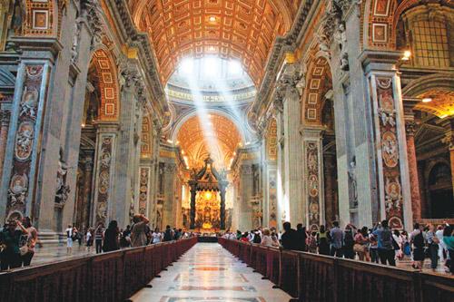 vatican: the gioi thu nho cua kien truc, hoi hoa y - 7