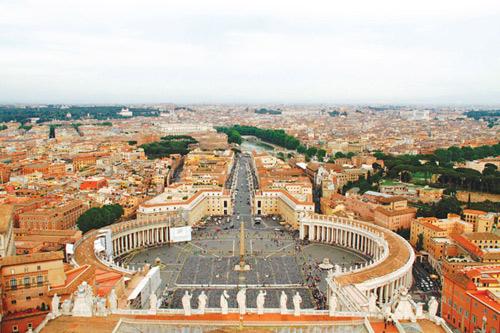 vatican: the gioi thu nho cua kien truc, hoi hoa y - 4