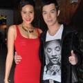 Làng sao - Nathan Lee bảnh bao đi cổ vũ Phương Mai